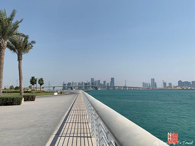 Saadiyat Island in Abu Dhabi