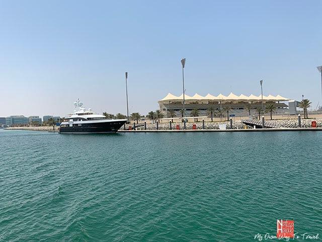 Beautiful Yas Island in Abu Dhabi