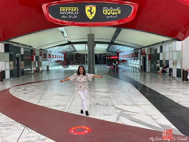 Ferrari World Abu Dhabi the only Ferrari-themed Park in the UAE