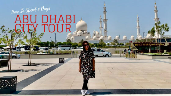 Four Days City Tour in Abu Dhabi