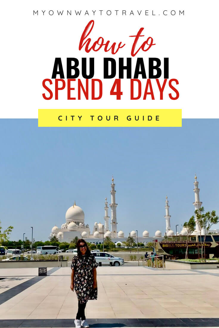 How to spend four days in Abu Dhabi