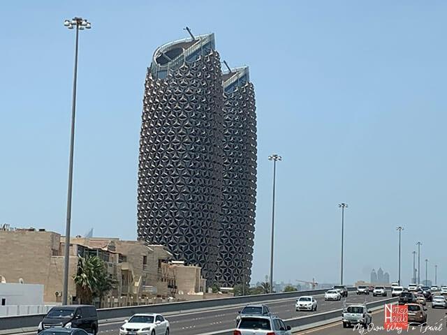 Iconic Al Bahr Towers Abu Dhabi