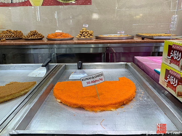 Kunafa from Sweet Palace Abu Dhabi