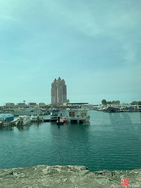 The Bay View overlooking Hotel Fairmont Bab Al Bahr Abu Dhabi