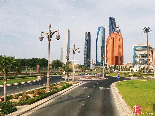 The largest Emirate Abu Dhabi Skyline
