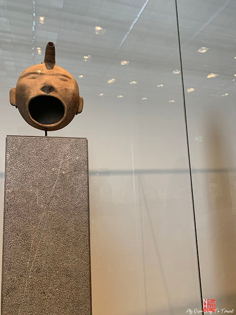 Vase in the form of a human face - Louvre Abu Dhabi