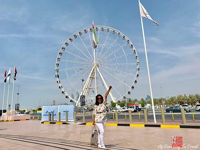 Waterfront observation wheel Marina Eye in Marina Mall Abu Dhabi