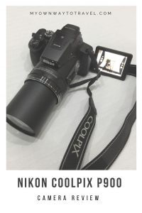 Nikon Coolpix P900 Camera for Travel