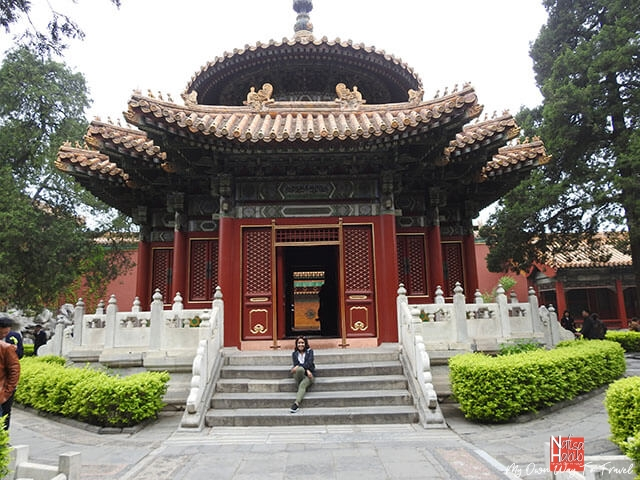 Palace Museum of the Forbidden City in China