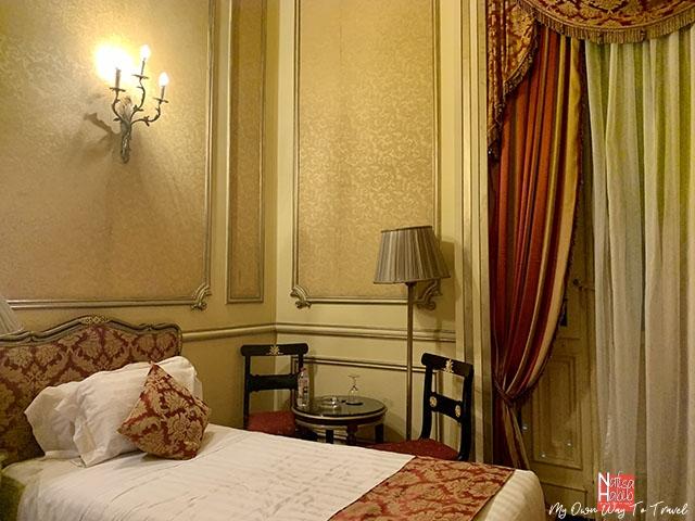 Single Room of Le Metropole Hotel