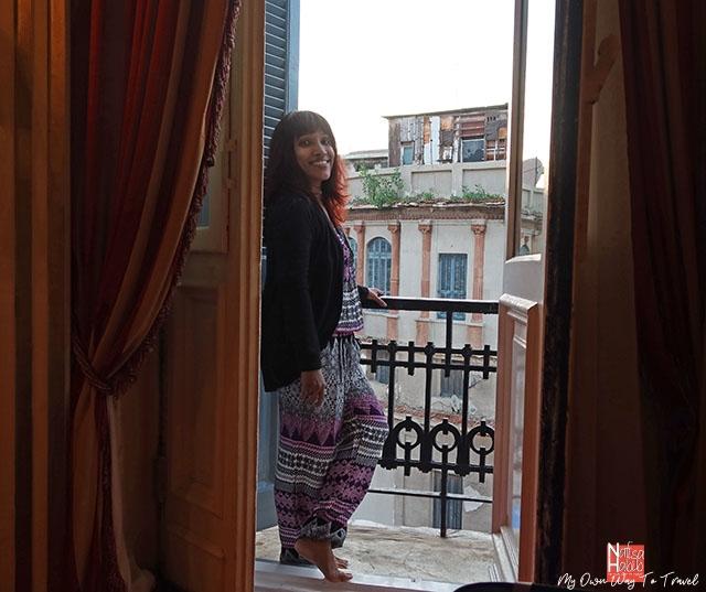 Le Metropole Hotel Single room balcony
