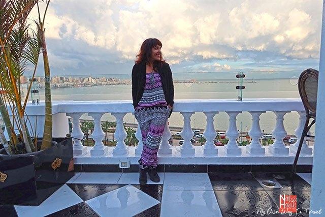 Le Metropole Hotel rooftop balcony