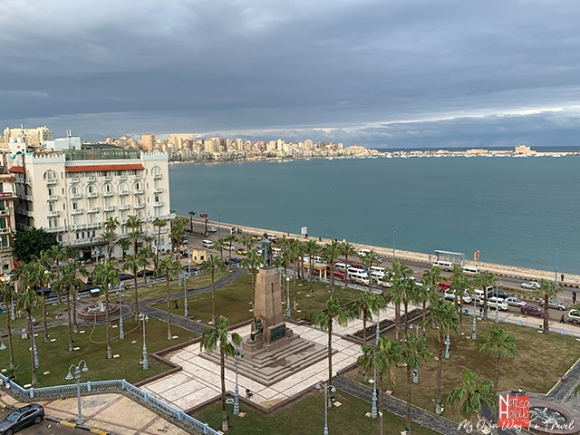 Stunning views of the Mediterranean from Paradise Inn Le Metropole Hotel