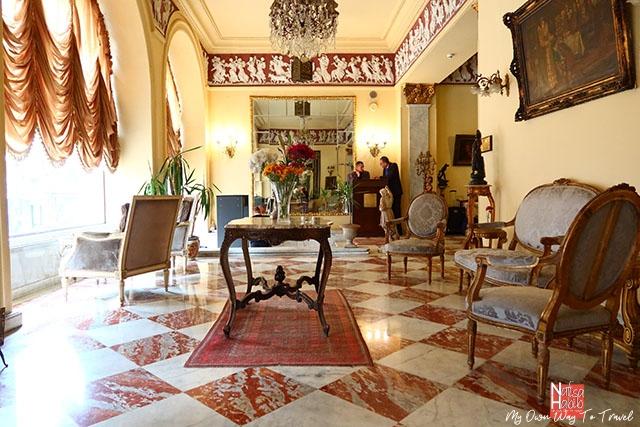Vintage-styled Paradise Inn Le Metropole Hotel in Alexandria