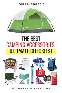 The Ultimate Checklist of Best Camping Accessories