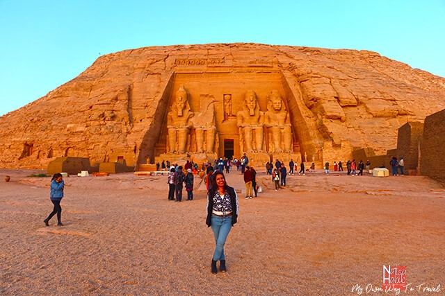 Abu Simbel Temple in Aswan