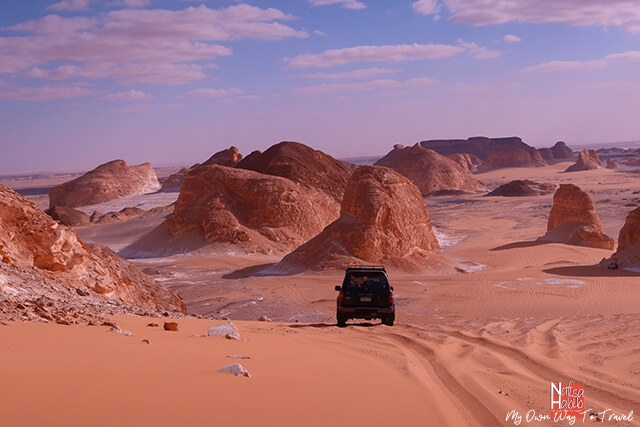 Agabat Valley of White Desert