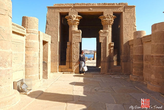 Beautiful Philae Temple in Aswan