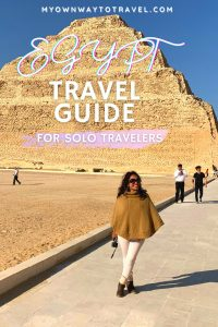 Egypt travel guide for solo traveling