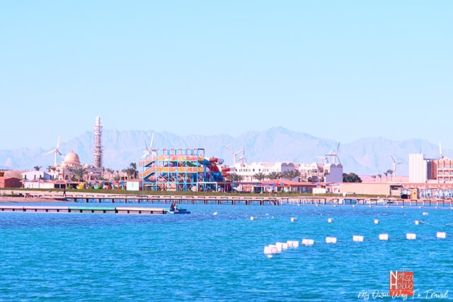 Hurghada beach resort town in the Red Sea