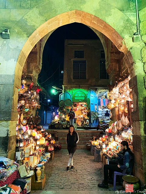Iconic Khan El-Khalili Souk in Cairo