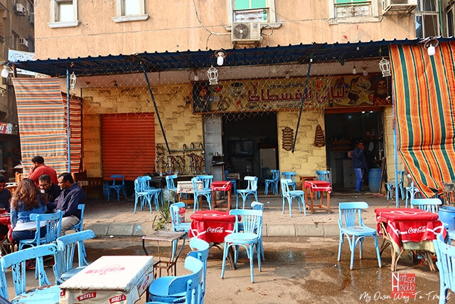 Local restaurant in Old Cairo