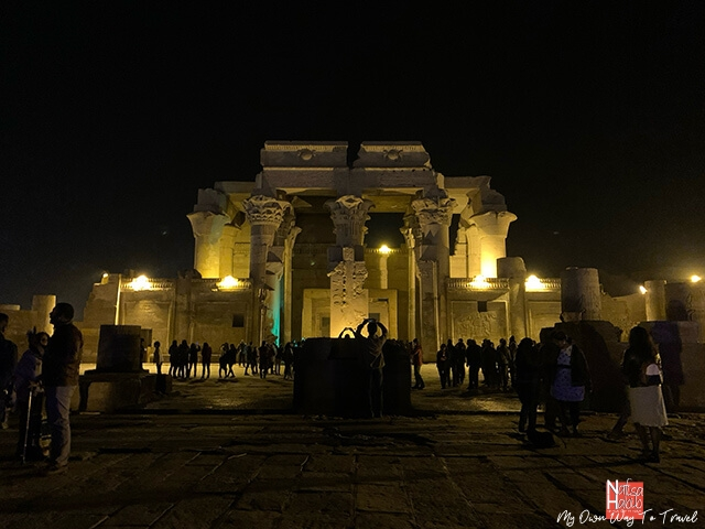 Tourist attractions - Temple of Kom Ombo in Aswan