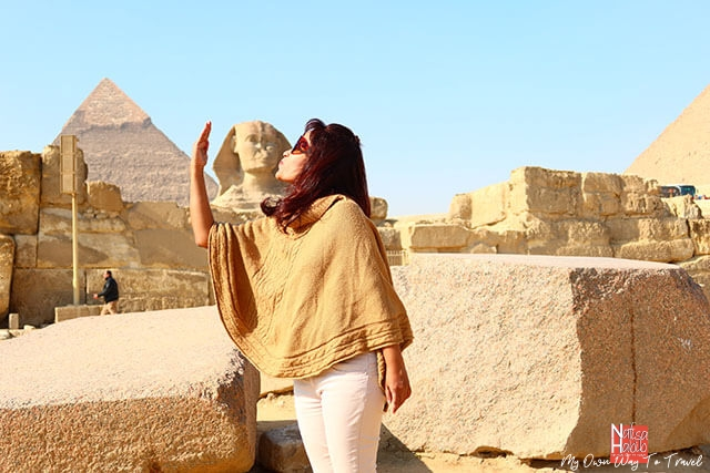The Sphinx of the Great Pyramid of Giza