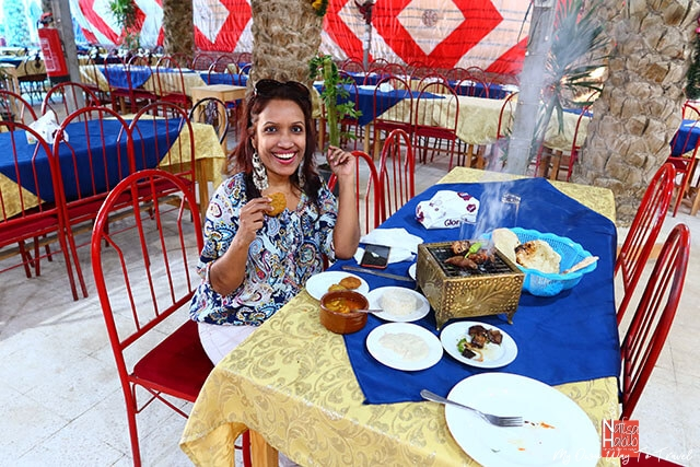 Traditional Egyptian food restaurant in Giza