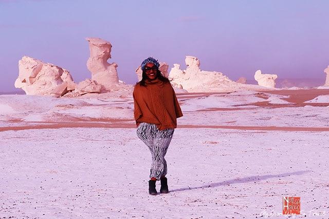 White Desert in Bahariya Oasis