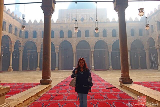 Al-Nasir Muhammad Mosque in Cairo