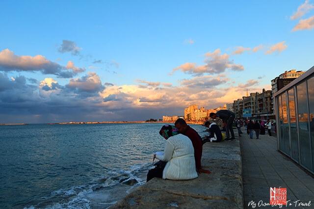 Alexandria Corniche Waterfront Promenade