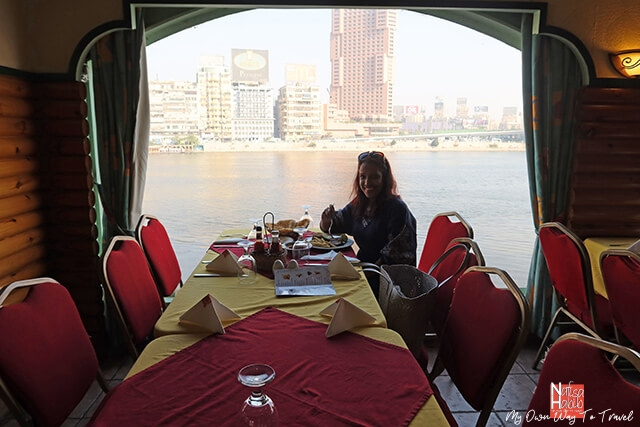 Al Saraya Floating Restaurant on Nile Corniche
