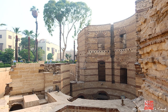Cairo's Coptic Neighbourhood - Babylon Fortress