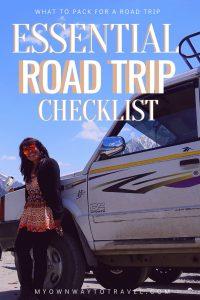 Best Road Trip Checklist