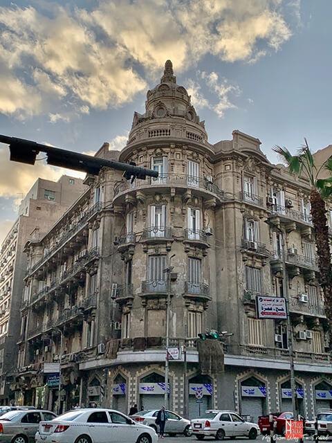 Cairo's historic Talaat Harb Street