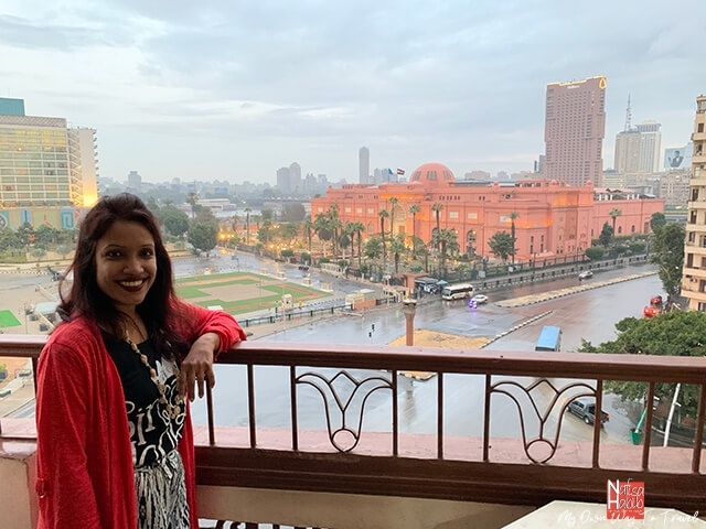 City View Hotel overlooking Egyptian Museum