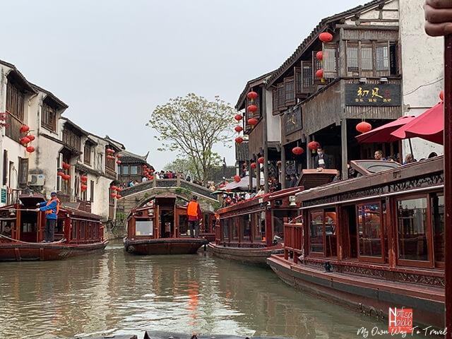 Cruising along the Grand Canal Suzhou