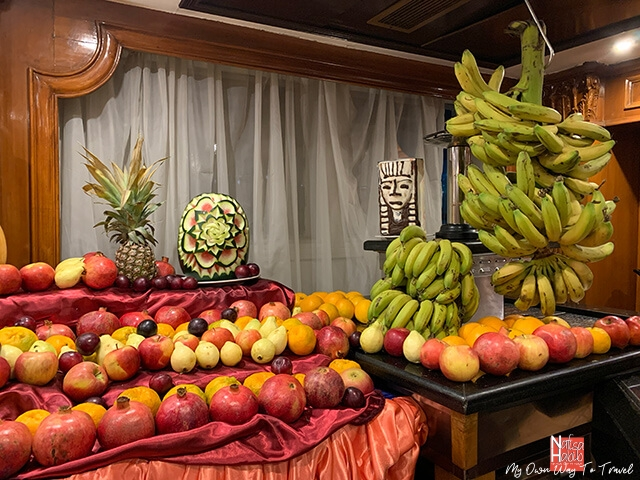 Fruits to serve for MS Monica Nile Cruise dinner