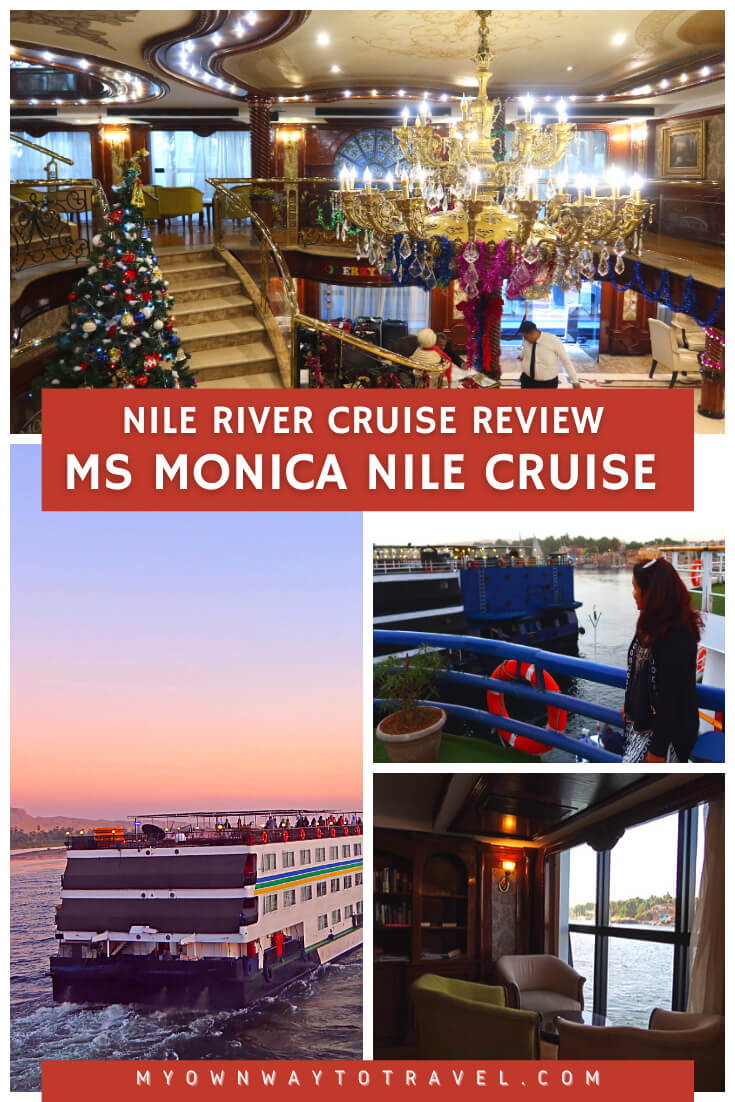Nile River Cruise Review – MS Monica Nile Cruise