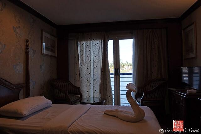 Monica Nile Cruise Cabin