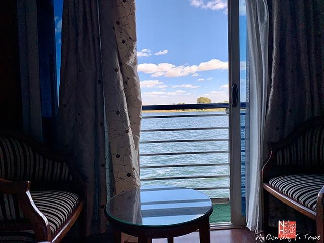 Monica Nile Cruise cabin with balcony
