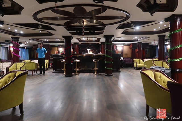 Bar and Lounge of Monica Nile Cruise