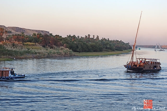 Nile cruise tour from Aswan to Luxor
