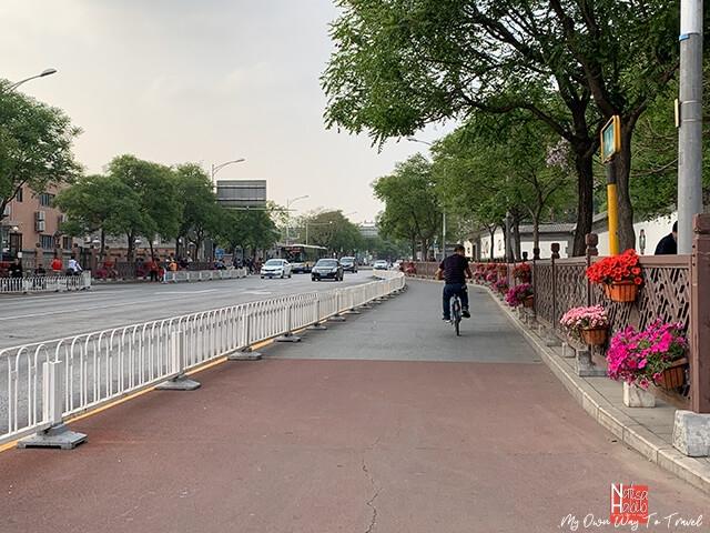 Popular Qianmen Street in Beijing