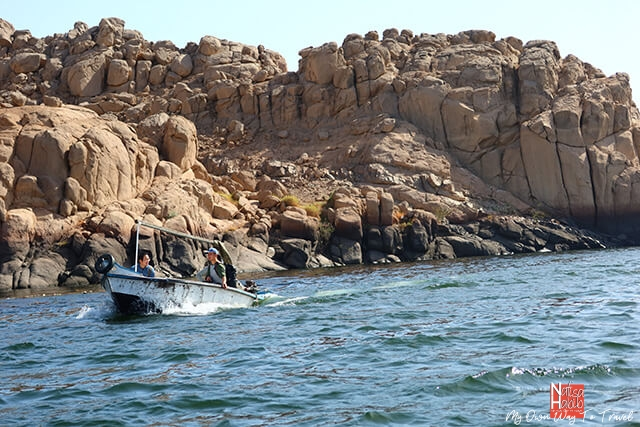 Scenic boat ride to Philae Temple