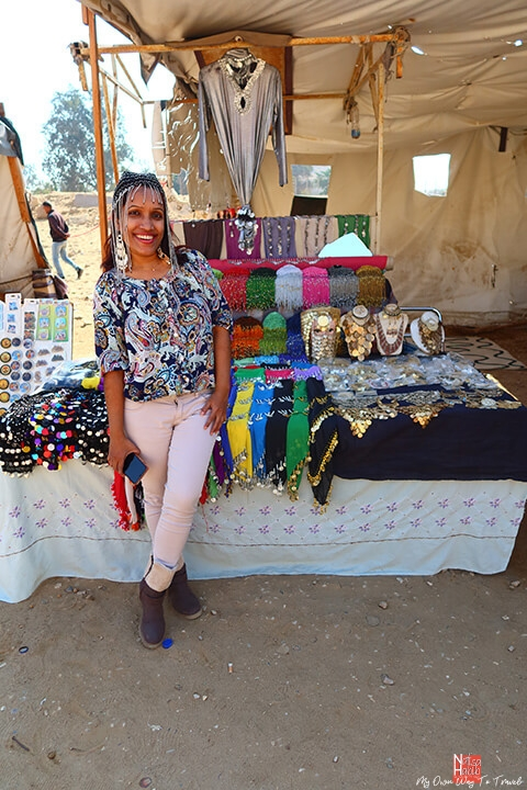 Shopping fun in Giza Plateau