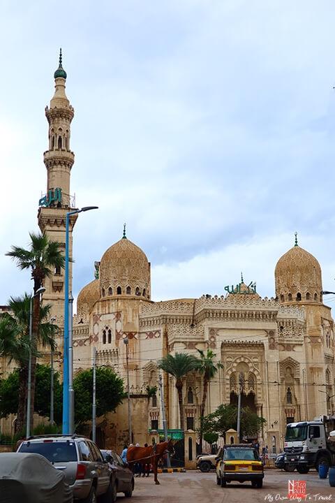 Sidi Abo El Abbas El Morsi Mosque in Alexandria