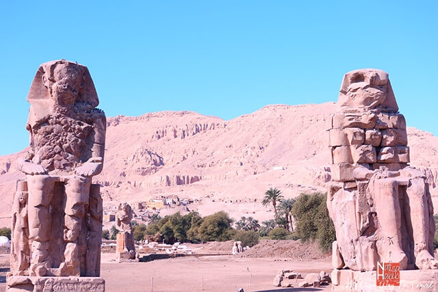 Trip to Luxor - The Colossi of Memnon