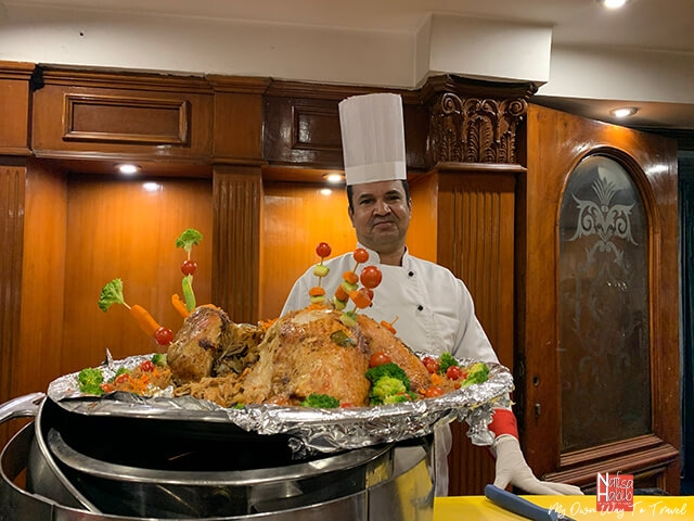 Traditional roast turkey - MS Monica Nile Cruise Dinner